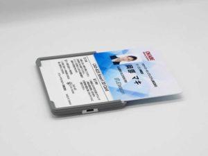 ビーコンにIDカードを入れられるCAD-825