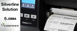 金属面に貼り付けるRFIDラベルの印字エンコード対応RFIDプリンタZT411オンメタル