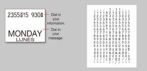 1152印字バンドイメージ