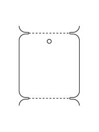 JIS11号札折り仕様イメージ