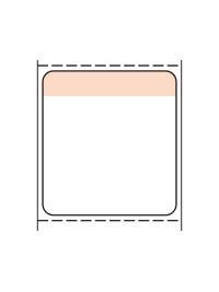 標準6号札 貼札 セールラベル イメージ