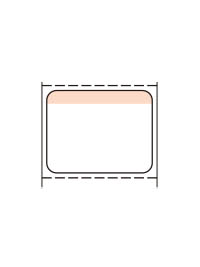 標準7号札 貼札 セールラベル イメージ