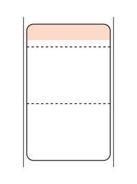 標準9号札 貼札 セールラベル イメージ