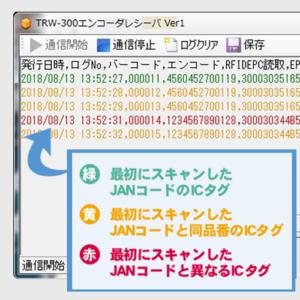検証ソフトの結果表示