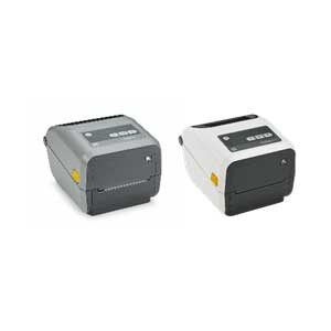 専用のリボンカートリッジで熱転写印刷(サーマルトランスファー)タイプのZD421t