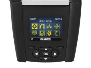ZQ600 ZQ610/ZQ620は液晶の分かりやすい表示