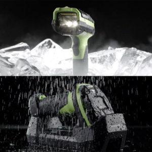 水や温度にも耐性のある3600シリーズ