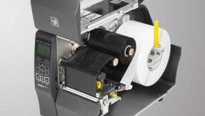 ZT220/ZT230は用紙やリボンの交換ヤメンテナンスしやすい