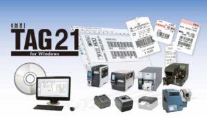 値札や物流ラベルなどのレイアウト発行ソフトオムニタグ21
