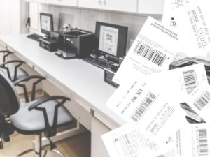値札・伝票自動発行システムのイメージ