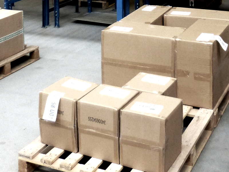 倉庫での出荷検品システムのイメージ