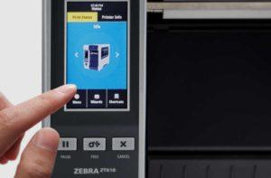 ZT610/ZT620のオプションでカラータッチパネルモデル登場