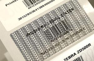 エンコードの不良を見た目に変わりやすく印刷